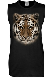 Color Bear Tiger Face Tank - Product Mini Image