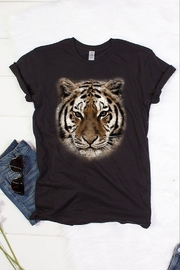 Color Bear Tiger Face Tee - Product Mini Image