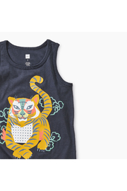 Tea Collection Tiger Graphic Tank - Front full body