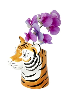Rice DK Tiger Head Vase - Alternate List Image