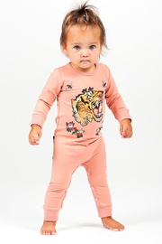 Rock Your Baby Tiger Playsuit - Front cropped