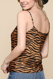 Be Cool Tiger Print Cami - Front full body