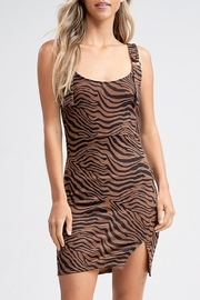 Emory Park Tiger Print Dress - Product Mini Image