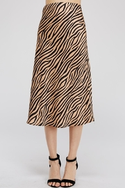 Renamed Clothing Tiger-Print Midi Skirt - Product Mini Image