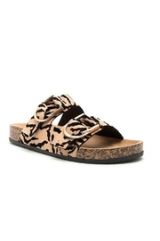 Qupid Tiger Print Sandal - Product Mini Image