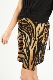 Wild Honey Tiger Print Skirt - Front full body