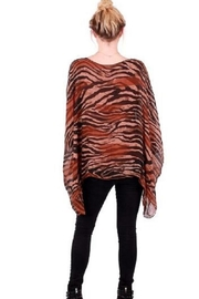 GiGi Moda Tiger Striped Kaftan - Product Mini Image