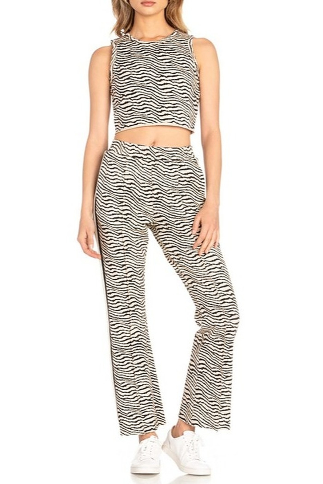 Dance and Marvel Tiger Sweat Pants - Side Cropped Image
