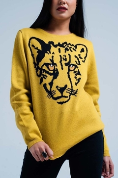 Q2 Tiger Sweater - Product List Image