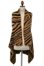 Anarchy Street Tiger Sweater Vest - Product Mini Image