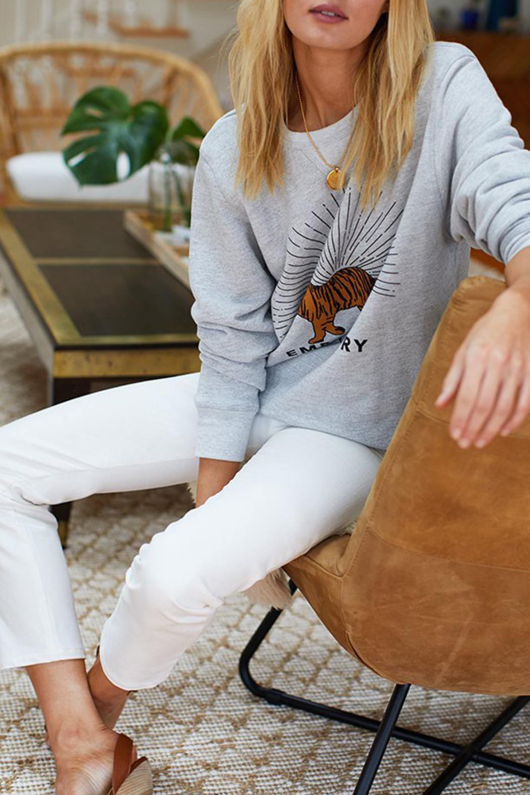 Emerson Fry TIGER SWEATSHIRT - Side Cropped Image