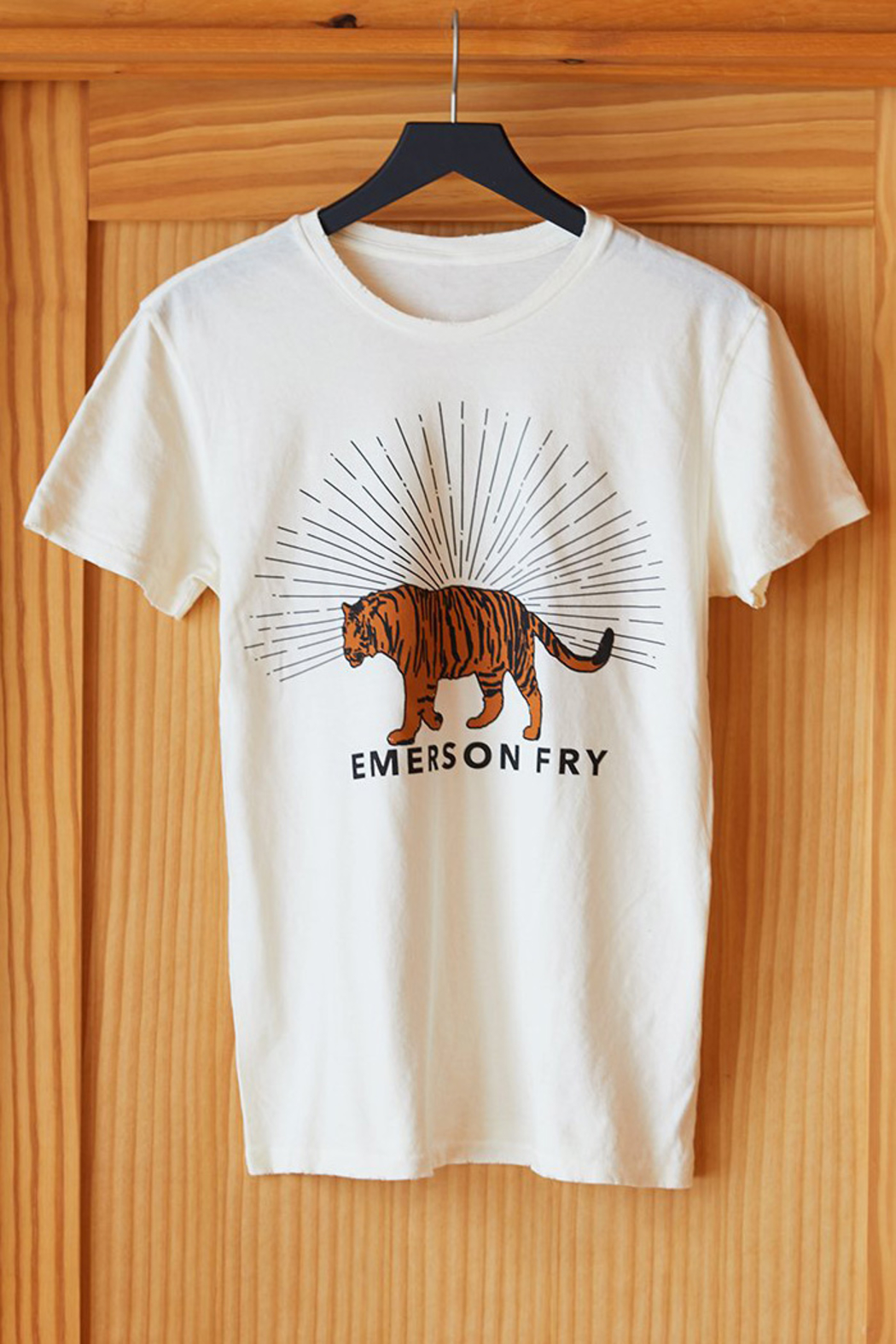 Emerson Fry TIGER T-SHIRT - Front Full Image