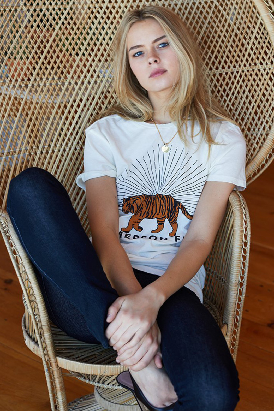 Emerson Fry TIGER T-SHIRT - Back Cropped Image