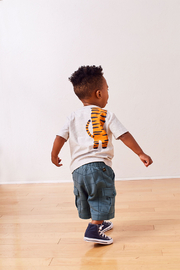 Tea Collection Tiger Turn Baby Graphic Tee - Other