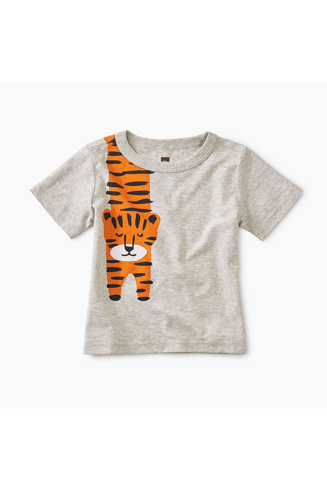Tea Collection Tiger Turn Baby Graphic Tee - Front Cropped Image