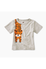 Tea Collection Tiger Turn Baby Graphic Tee - Front cropped
