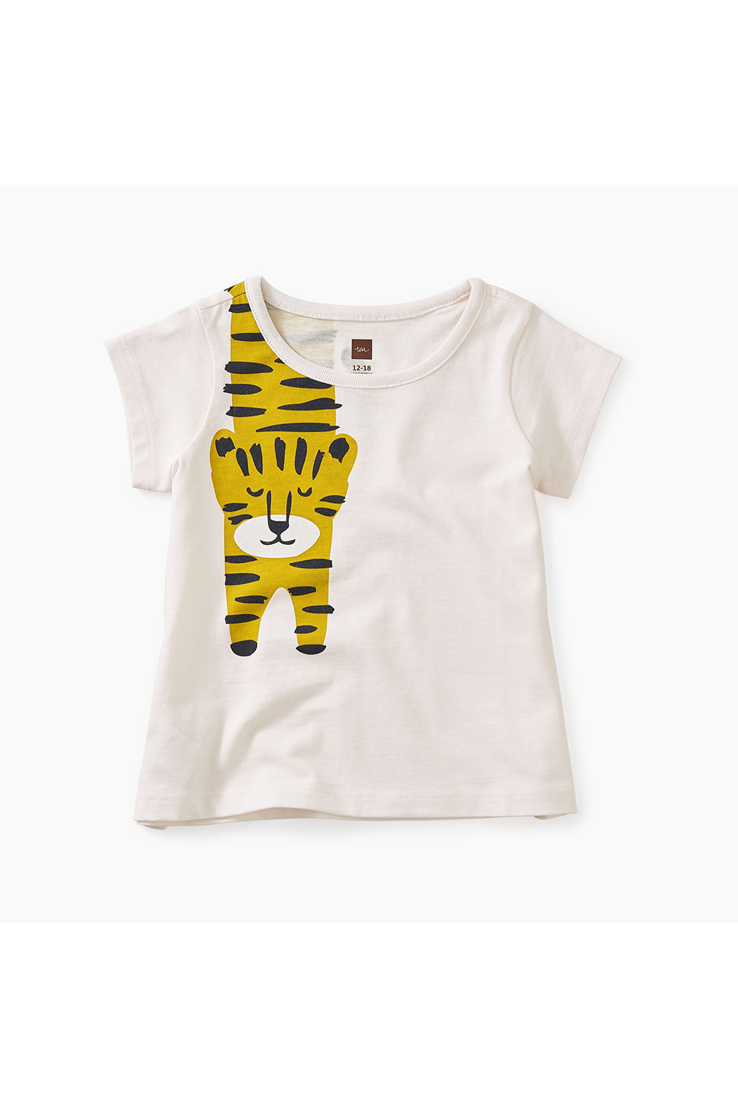 Tea Collection Tiger Turn Baby Graphic Tee - Main Image
