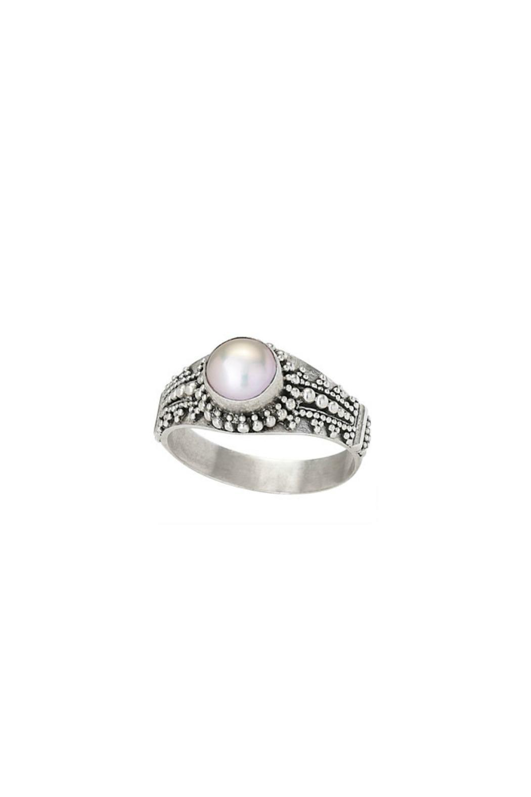 Tiger Mountain Bali Pearl Ring - Main Image