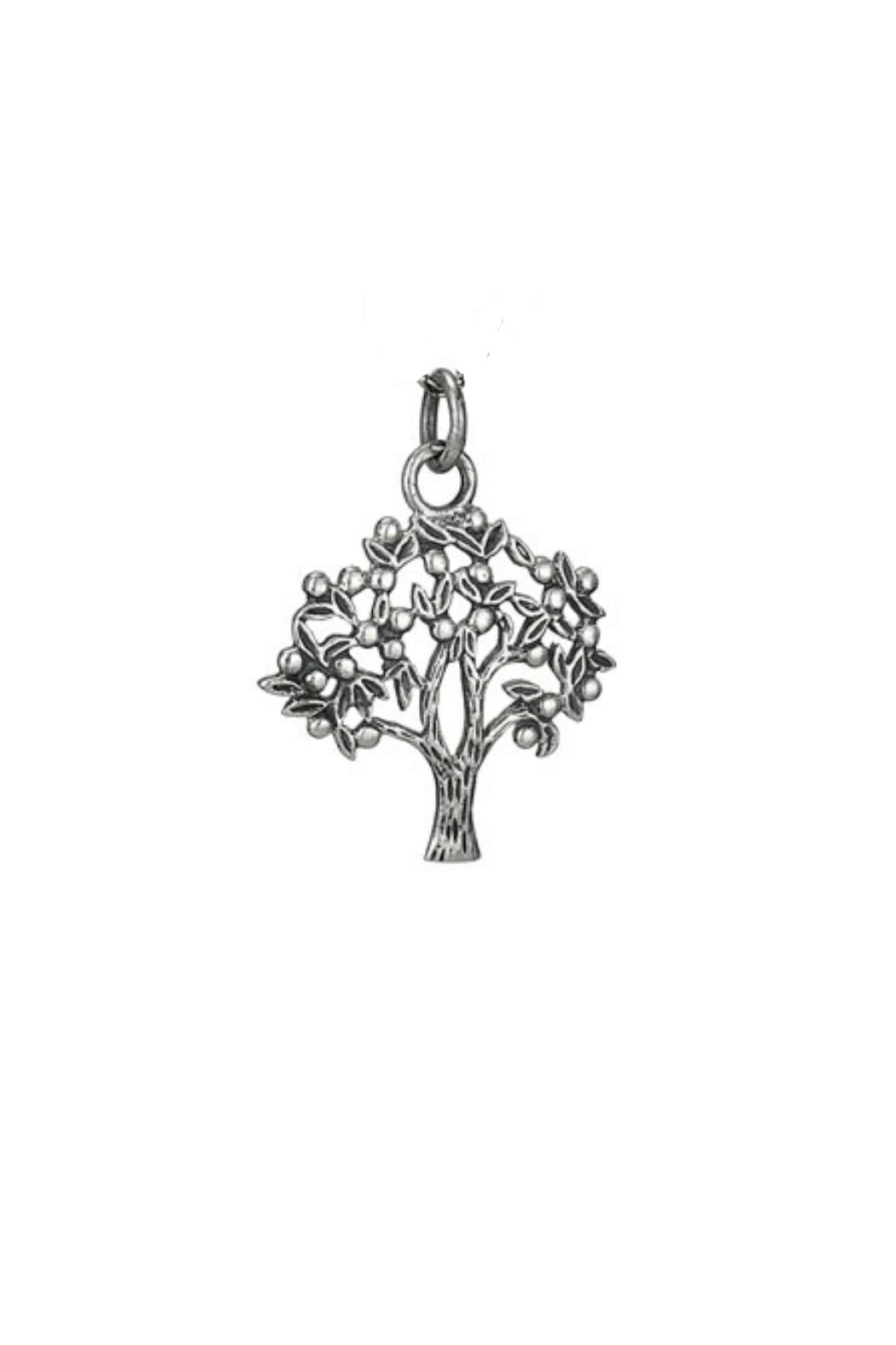 Tiger Mountain Fair-Trade Tree Pendant - Front Cropped Image