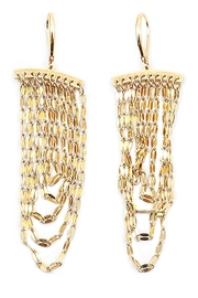 TIGERLILY Delicate Chain Earrings - Product Mini Image