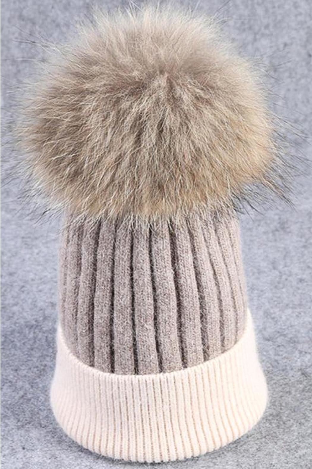 21f05fa10a0 TIGERLILY Fur Pompom Hat from Avalon by Tiger Lily — Shoptiques