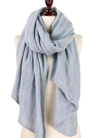 TIGERLILY Grey Oblong Scarf - Product Mini Image