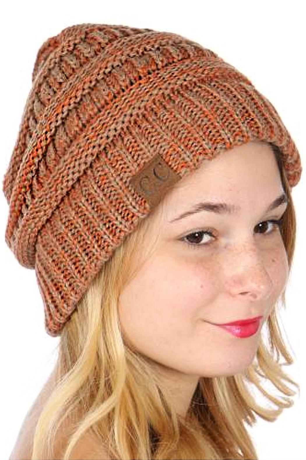TIGERLILY Marbled Knit Beanie - Main Image