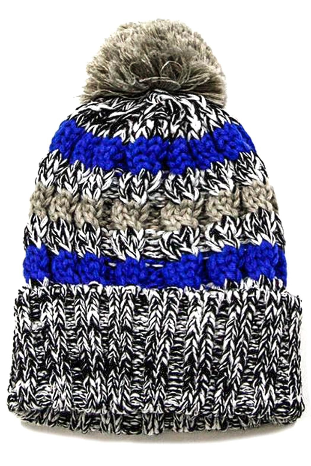 TIGERLILY Pom Pom Hat - Front Cropped Image