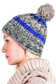 TIGERLILY Pom Pom Hat - Front full body