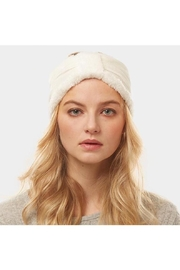 TIGERLILY Velvet Knotted Headband - Front cropped