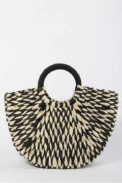 TIGERLILY Woven Straw Bag - Product List Image