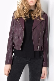 Tigha Antoinette Suede Jacket - Front cropped