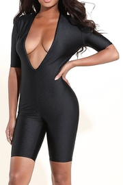 K too Tight Deep-v Romper - Product Mini Image