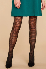Spanx Tight-End Tights - Honeycomb Fishnet - Product Mini Image