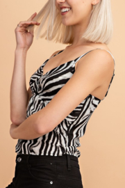 Le Lis Tigress Top - Front full body