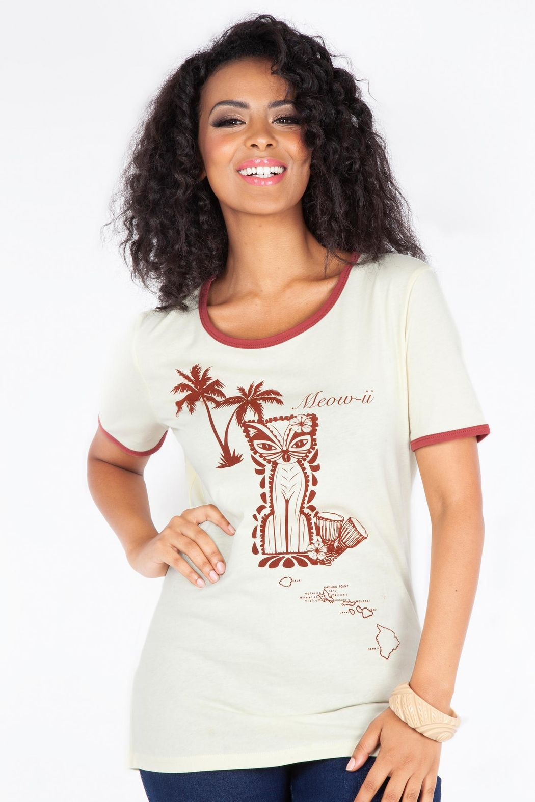 8d1f1aac7c Voodoo Vixen Tiki Cat Tee from Omaha by Daisy Jones  Locker — Shoptiques