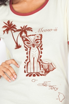 Voodoo Vixen Tiki Cat Tee - Alternate List Image