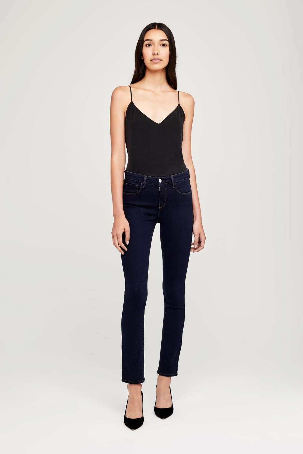 L'Agence Tilly Mid-Rise Jeans - Main Image