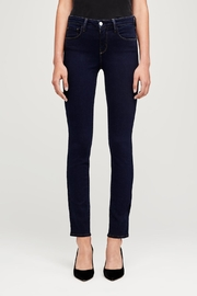 L'Agence Tilly Mid-Rise Jeans - Front full body