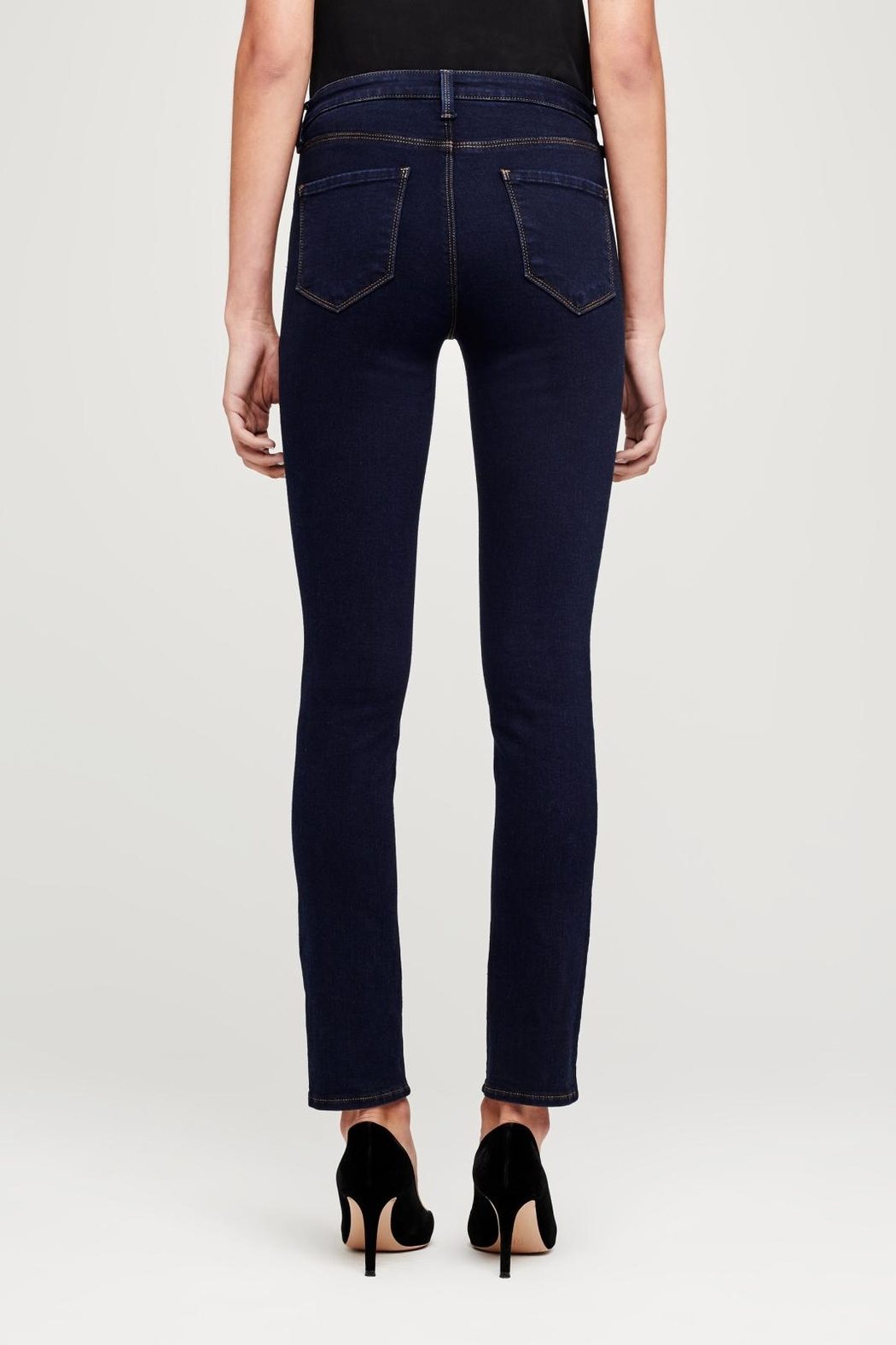 L'Agence Tilly Mid-Rise Jeans - Side Cropped Image