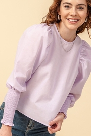 HYFVE Tilly Puff Sleeve Blouse - Product Mini Image