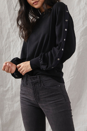 Grey State Tilly Snap-around L/S Top - Front cropped