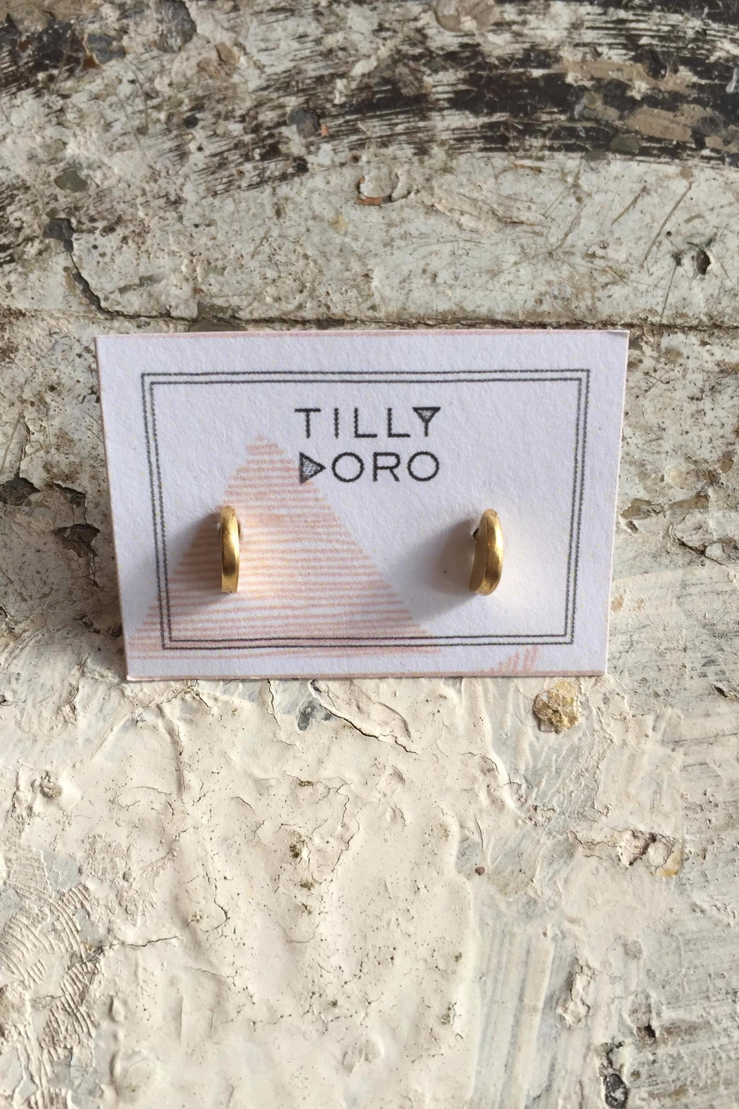 Tilly Doro Crescent Studs - Main Image