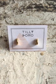 Tilly Doro Crescent Studs - Front cropped
