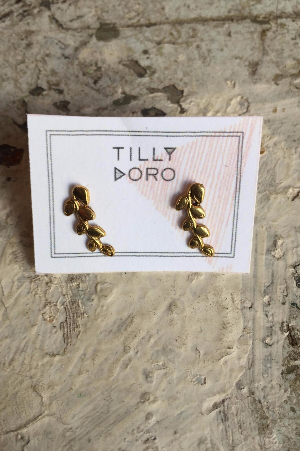 Tilly Doro Vine Studs - Front Cropped Image