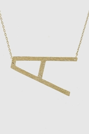 Embellish Tilted Initial Necklace - Product Mini Image