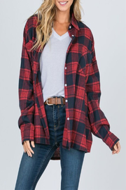 Raw Edge Timber Flannel - Product Mini Image