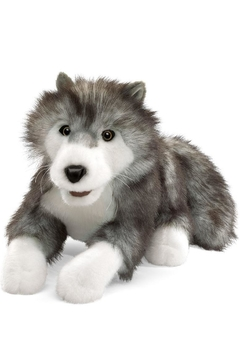 Folkmanis Timber Wolf Puppet - Alternate List Image