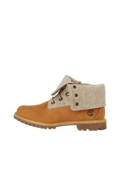 Shoptiques Product: Canvas Fold Down Boot