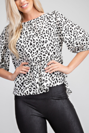 Glam Apparel Time For Fun Top - Product Mini Image